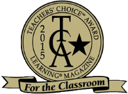 Teachers' Choice Award Learning Magazine for the Classroom 2015