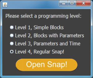 Snap Level Chooser
