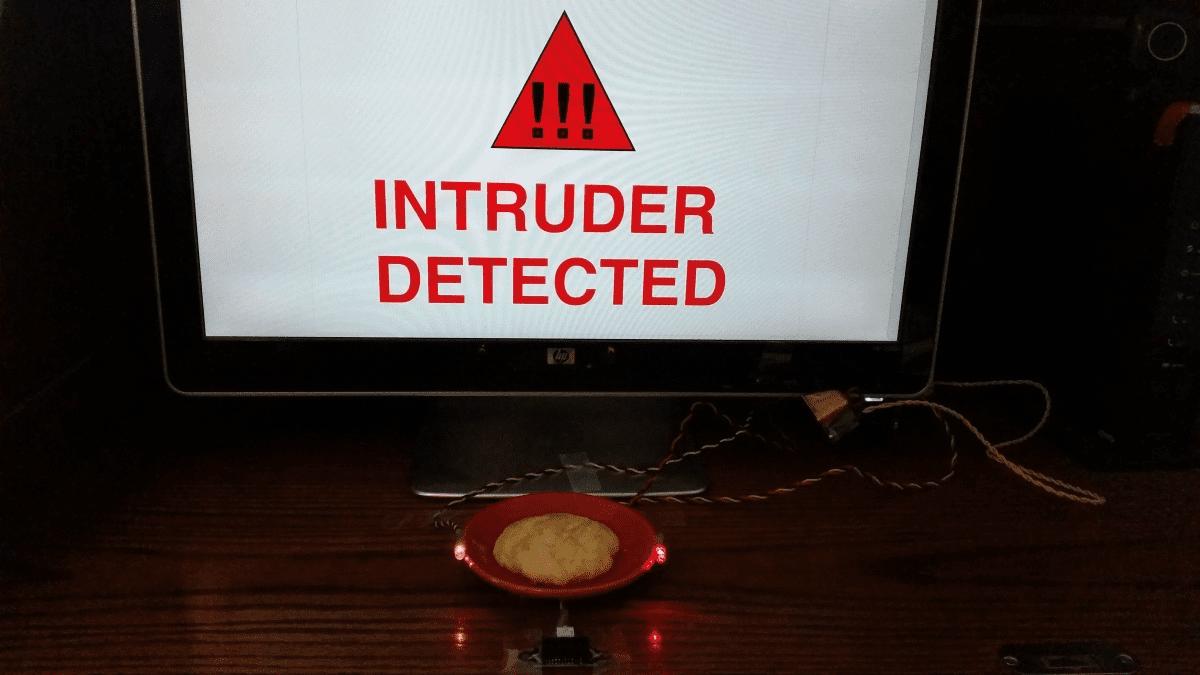 Scratch Burglar Alarm