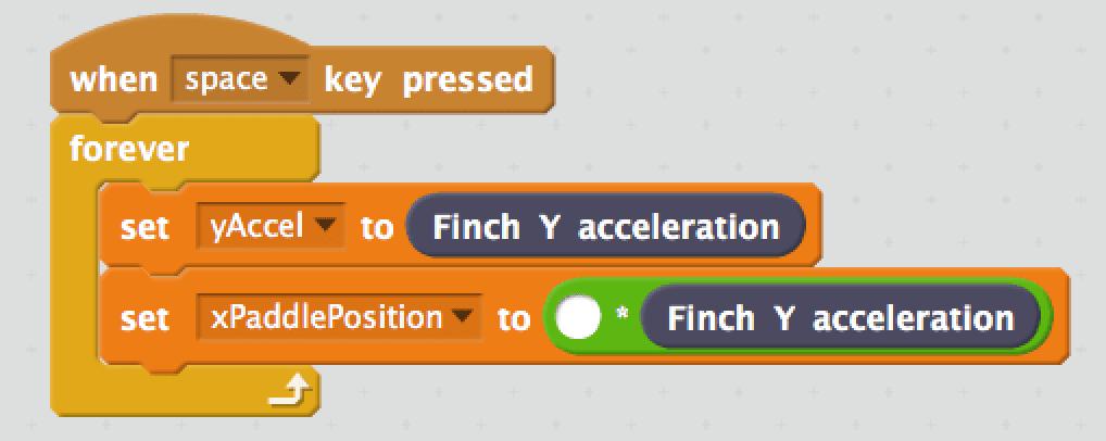 Finch Pong - BirdBrain Technologies