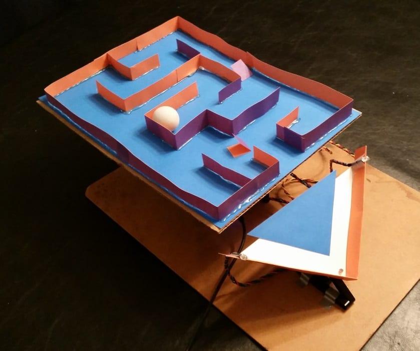 BirdBlox Maze Game