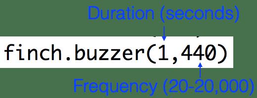 Python: Lesson 4 - Sound with the Finch - BirdBrain Technologies