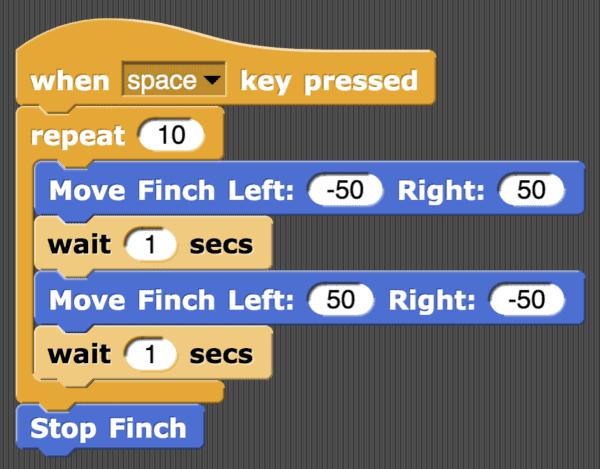 Snap! Finch Basics - BirdBrain Technologies