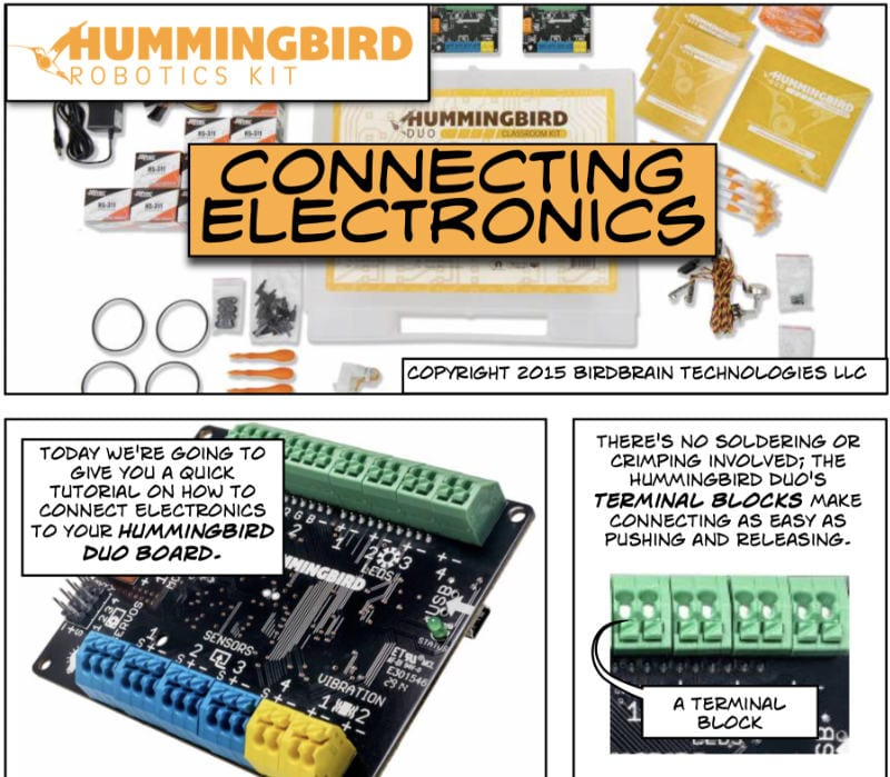 Connecting Electronics