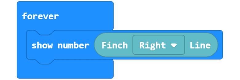 Finch Line Sensor Block