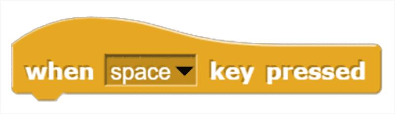 When __ Key Pressed Block Block