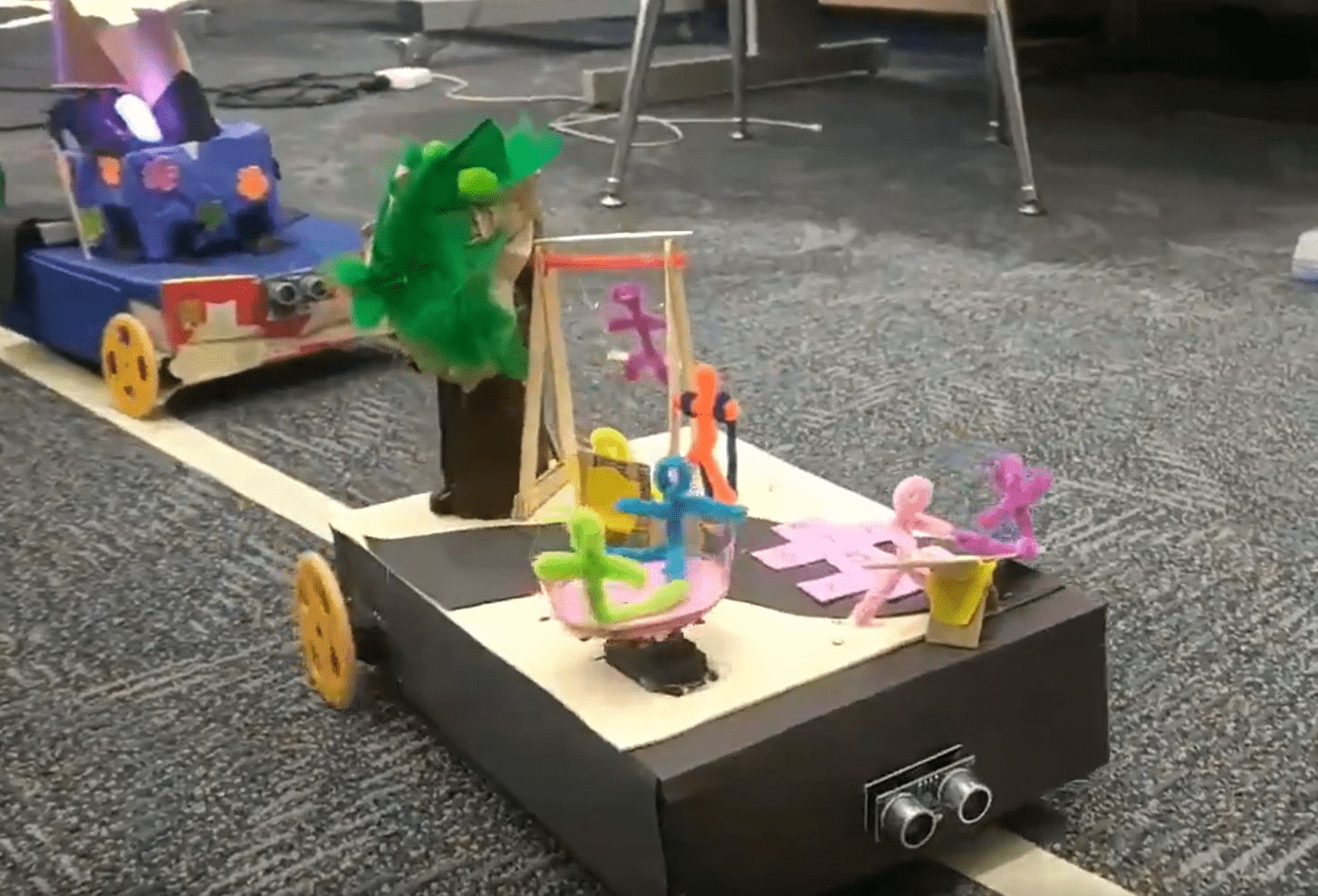 Robot Parade Floats*