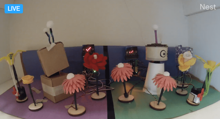 Teacher Talk: Hybrid Learning with Remote Robots
